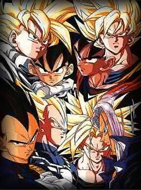 Click on the Saiyans to view group pictures